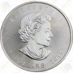 2015 Canada 1 oz silver Maple Leaf