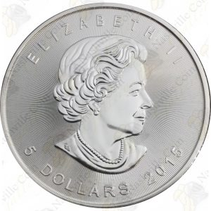 2015 Canada 1 oz silver Maple Leaf