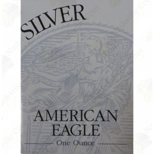 1998 Proof American Silver Eagle with box and COA