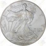 2001 1 oz American Silver Eagle