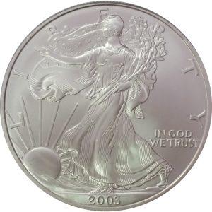 2003 1 oz American Silver Eagle