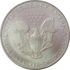 2003 American Silver Eagle -- Brilliant Uncirculated