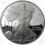 2006 Proof American Silver Eagle with box and COA