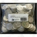 $50 face value United States 90% silver coins