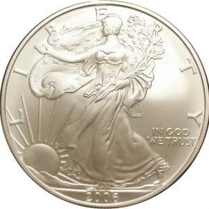 2006-W 1 oz American Silver Eagle - Burnished Uncirculated