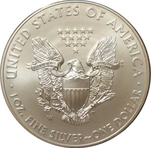 2012-W 1 oz American Silver Eagle - Burnished Uncirculat​ed