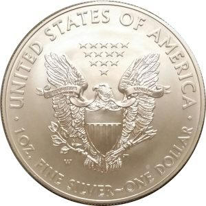2014-W 1 oz American Silver Eagle - Burnished Uncirculat​ed