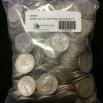US 90% Junk Silver Coins, $100.00 face