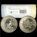 2016 Canadian Silver Maple Leafs - 1 oz - 25 coin tube