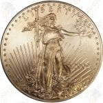 American Gold Eagle -- 1 oz pure gold (.917 fine gold)
