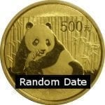 Chinese Gold Panda 1 oz - Uncirculated (Sealed)