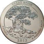 2013 Great Basin 5 oz. ATB Silver Coin