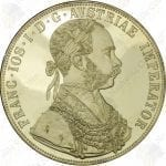 Austria 4 Ducats -- .4430 oz pure gold