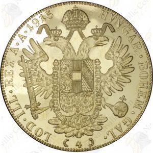 Austria 4 Ducats -- .4430 oz pure gold