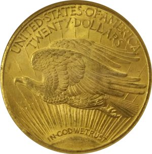 US $20 Gold St. Gaudens - common date