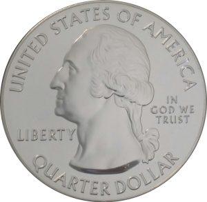 2014 Gr. Sand Dunes 5 oz. ATB Silver Coin - Uncirculated