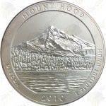 2010-P America the Beautiful 5 oz silver Mount Hood (Specimen finish)