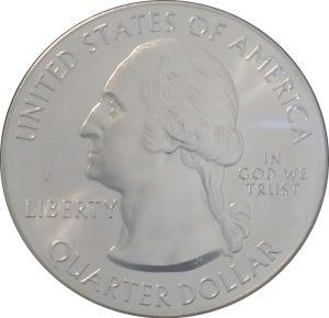 2015 Saratoga 5 oz. ATB Silver Coin - Uncirculated