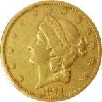 US $20 Gold Liberty - common date