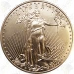 American Gold Eagle -- 1/2 oz pure gold (.917 fine gold)
