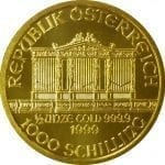 Austrian Philharmonic - 1/2 oz Pure Gold