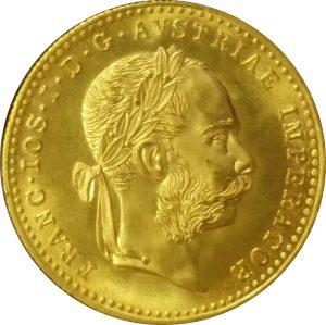 Austrian Gold 1 Ducat - .1107 oz Pure Gold