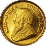 Krugerrand 1/4 oz Pure Gold coins