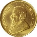 South African Krugerrand 1/2 oz gold bullion coin