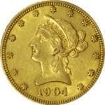 US $10 Gold Liberty - common date