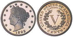 Liberty Nickel- rare coins- sell to Nashville Coin Gallery