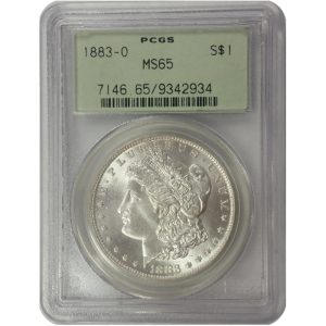 Pre-1921 Morgan Silver Dollar - MS65 (PCGS or NGC)