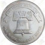 Generic 1 oz .999 fine silver round