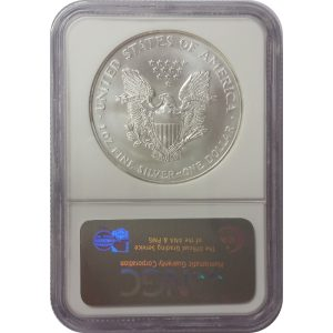 1998 American Silver Eagle - 1 oz - NGC MS69