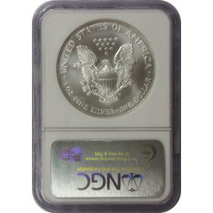 2001 American Silver Eagle - 1 oz - NGC MS69 - Nashville Coin Gallery