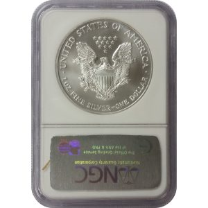 2002 American Silver Eagle - 1 oz - NGC MS69 - Nashville Coin Gallery