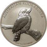 2010 Australian Kookaburra - 1 ounce .999 Fine Silver
