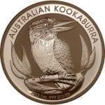 2012 Australian Kookaburra - 1 ounce .999 Fine Silver