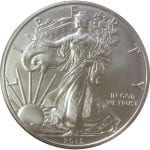 2015-W 1 oz American Silver Eagle - Burnished Uncirculat​ed