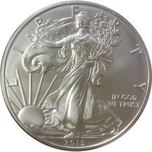 2015-W 1 oz American Silver Eagle - Burnished Uncirculated