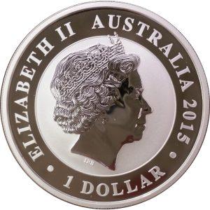 2015 Australian Kookaburra - 1 ounce .999 Fine Silver
