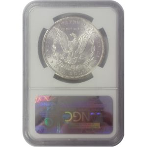 Pre-1921 Morgan Silver Dollar - MS62 (PCGS or NGC)