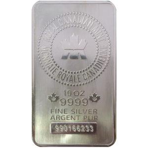Generic 10 troy oz .999 Fine Silver Bar