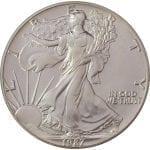 1987 1 oz American Silver Eagle