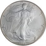 1995 American Silver Eagle -- 1 oz Brilliant Uncirculated