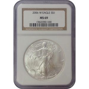 2006-W American Silver Eagle coin