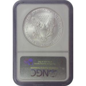 2006 American Silver Eagle -- 1 oz BU -- NGC MS69