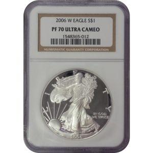 2006 American Silver Eagle -- NGC PF70 ULTRA CAMEO