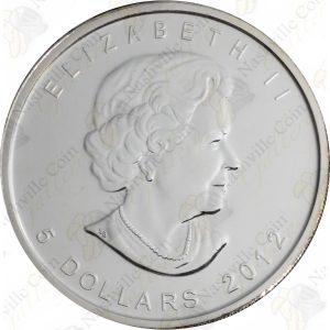 2012 Canada 1 oz silver Cougar