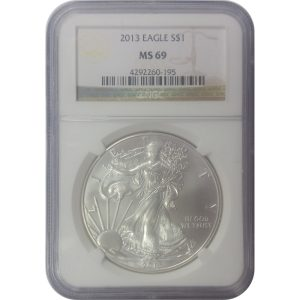 2013 American Silver Eagle - 1 oz - NGC MS69 - Nashville Coin Gallery