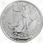 2016 Great Britain 1 oz silver Britannia